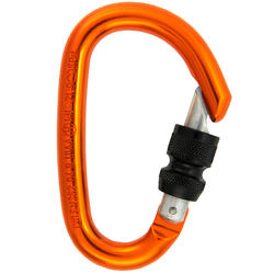 Screw snap hook for climbing and mountaineering - Spider HMS