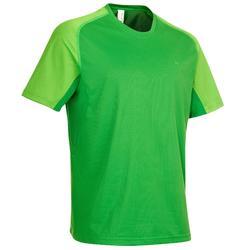 T-Shirt Manches Courtes Randonnée Homme TechFRESH 100 Vert