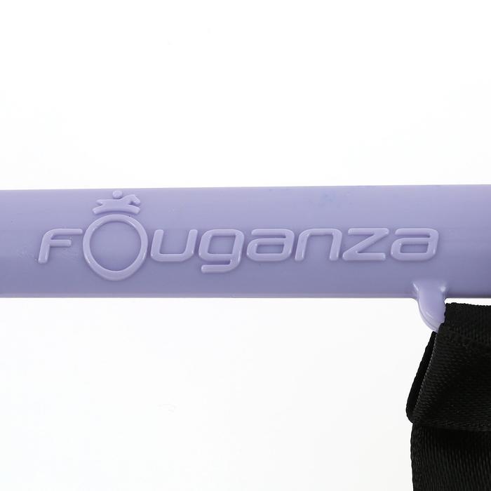 Fusta de equitación para niños SCHOOLING  violeta 56 cm