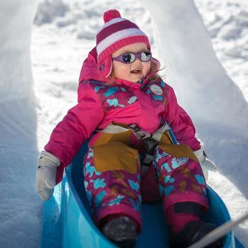 Traîneau à neige pour les bébés, Bobee Bob, bleu - 344548