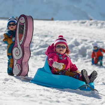 Traîneau à neige pour les bébés, Bobee Bob, bleu - 344550