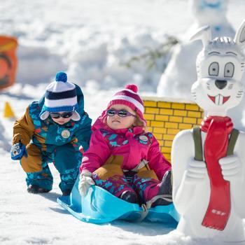 Traîneau à neige pour les bébés, Bobee Bob, bleu - 344553