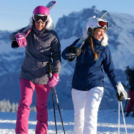 Pantalon Ski Femme First Heat Blanc Wedze Wedze