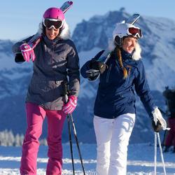Ski-jas dames Midslide allover Wed'ze - 344594