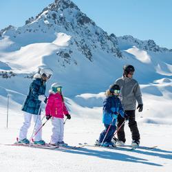 Meisjes skibroek Firstheat wit - 344596