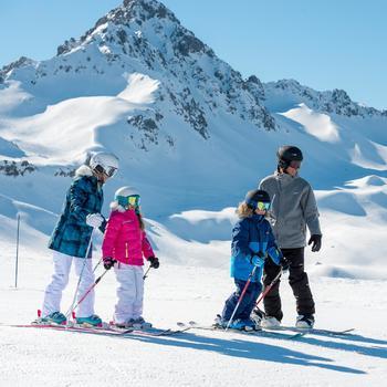 Meisjes skibroek Firstheat wit