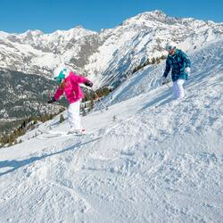 Meisjes skibroek Firstheat wit - 344605