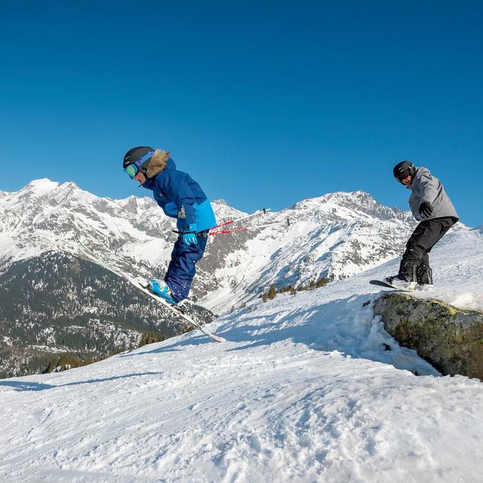 Snowboardboots all mountain heren Boogey 300 fast lock zwart