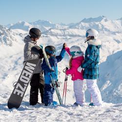 Meisjes skibroek Firstheat wit - 344609