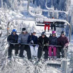 Ski-jas dames Midslide allover Wed'ze - 344622