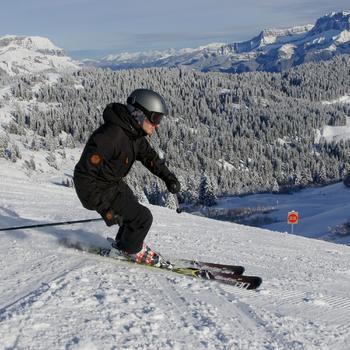 SLIDE 300 中性雪地運動手套 - 黑色