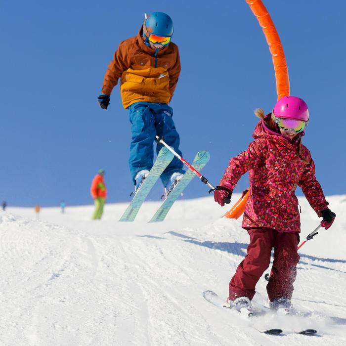 Ski-snowboardhelm meisjes Onefeel roze