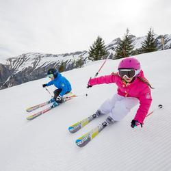 Jongens skibroek Firstheat donkergrijs - 344822