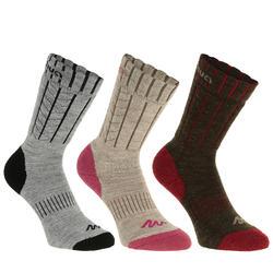2 paar sokken Arpenaz Warm - 344859