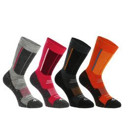 2 paar sokken voor trekking in de winter Forclaz Warm - 344860