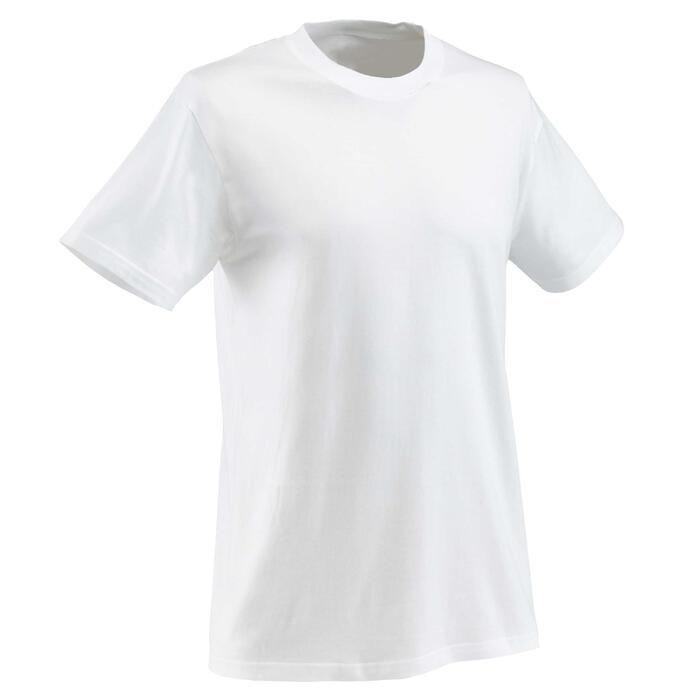 T-shirt wit voor bedrukking
