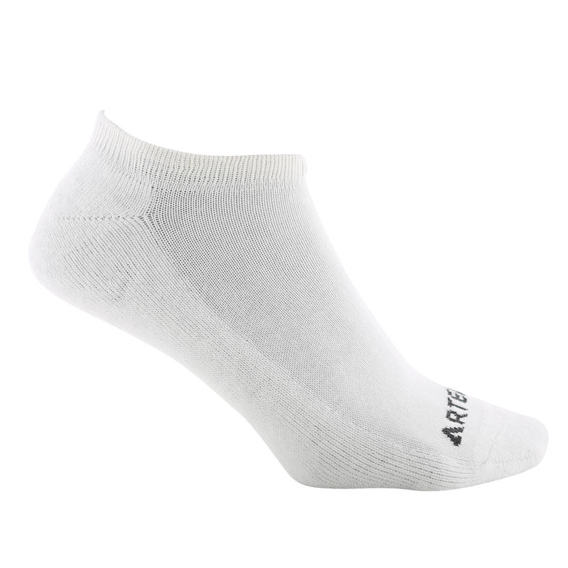 RS 100 Adult Low Sports Socks Tri-Pack - White