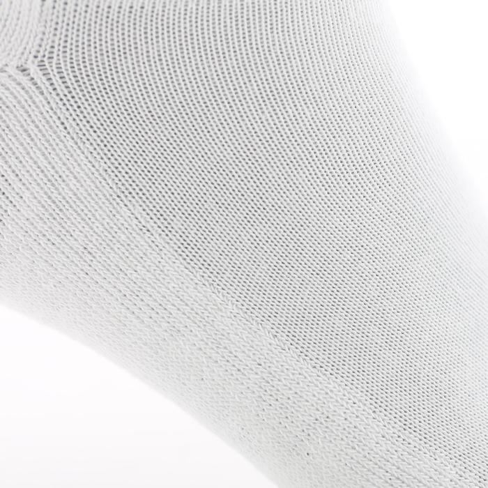 Lage sportsokken voor volwassenen Artengo RS 100, wit, set van 3 paar