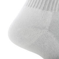 RS 100 Adult High Sports Socks Tri-Pack - White