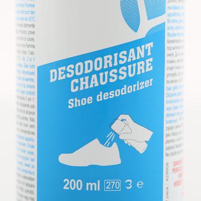 """תרסיס מונע ריח וזיעה לנעליים - 200 מ""""ל"""