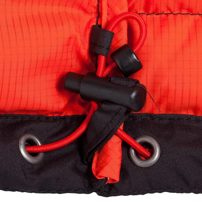 男款登山健行羽絨外套TREK 500-黑色