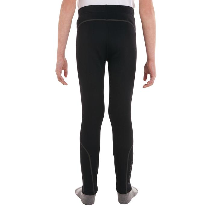 Collant ski de fond chaud junior noir