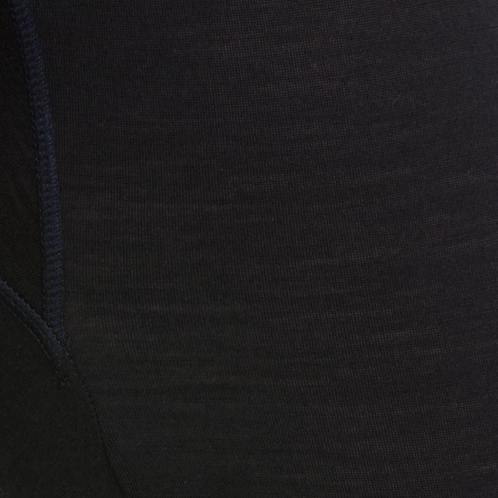 Herenlegging voor wandelen Techwool 190 zwart