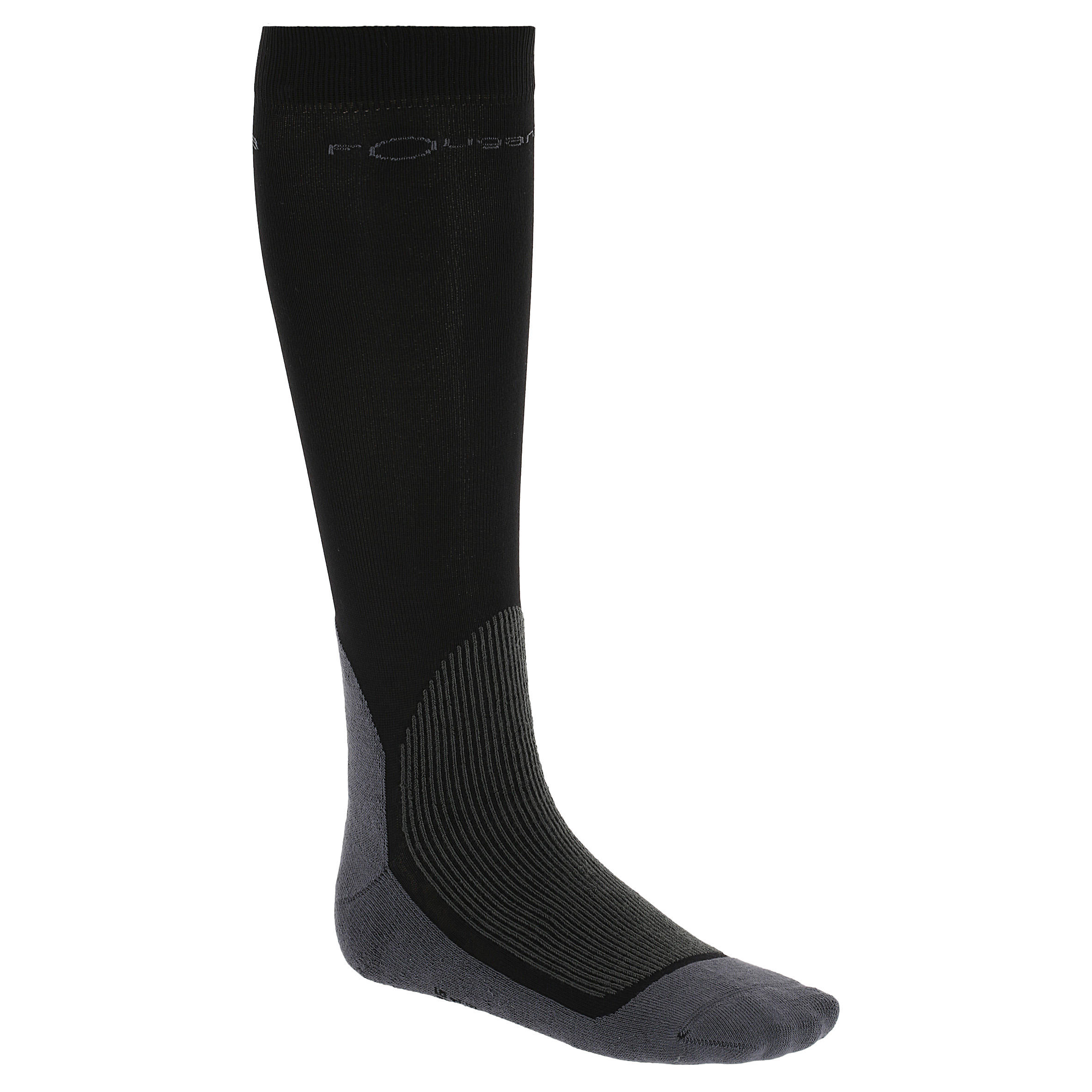 Chaussettes équitation adulte EQUAREA noires x 1 paire