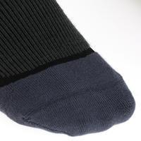 גרבי רכיבה נושמים למבוגרים 1 זוגות - שחור
