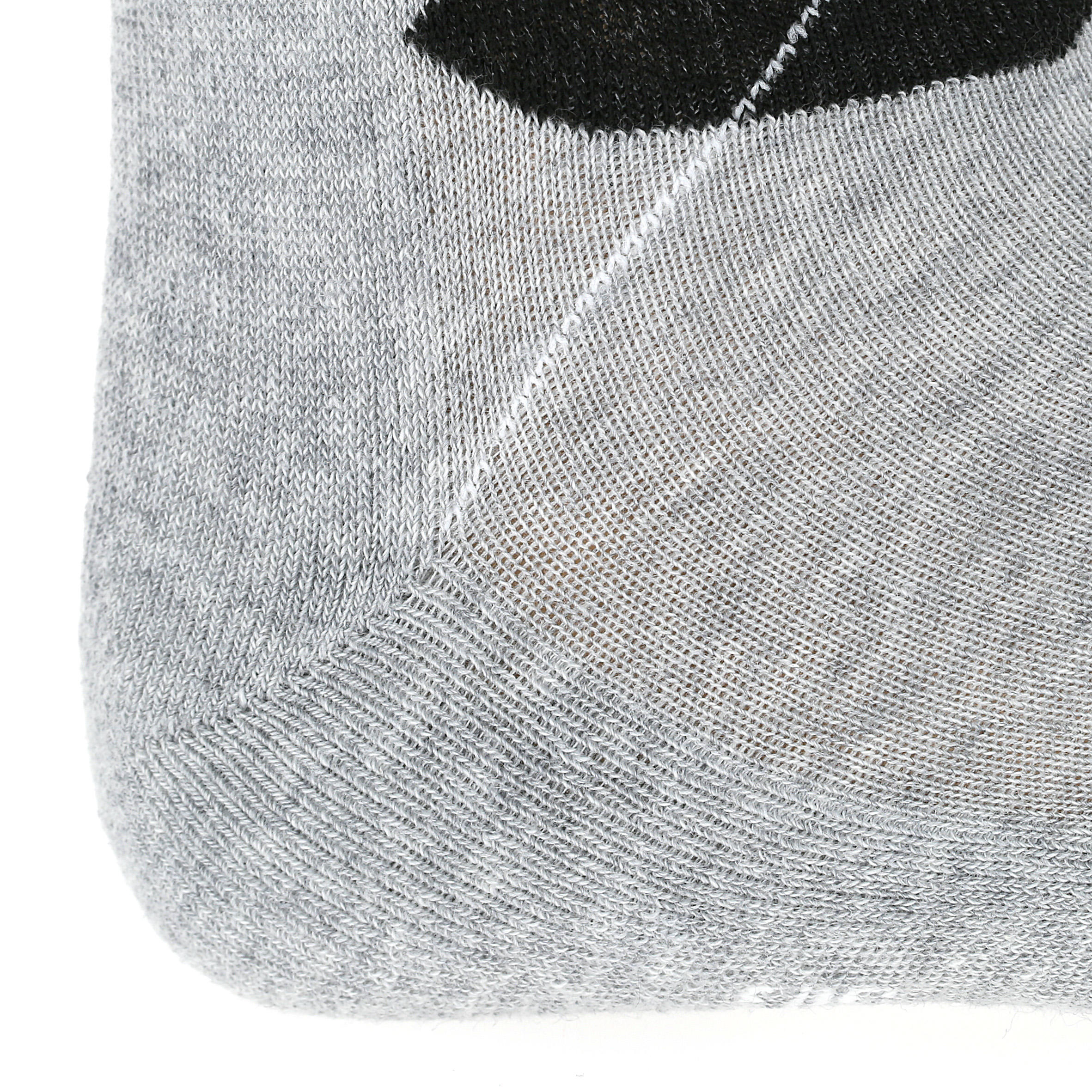 Adult Horseback Riding Argyle Socks 2-Pair - Grey/Black