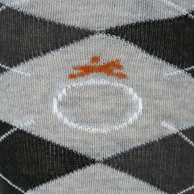 Шкарпетки для кінного спорту, для дорослих, 2 пари - Сірі/Чорні