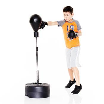 Boksbal + bokshandschoenen voor kinderen