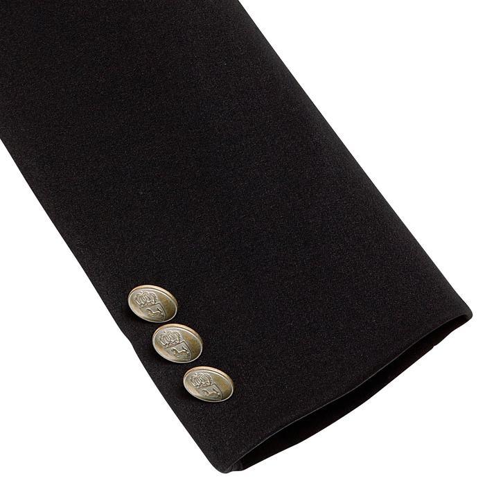 Veste de Concours équitation enfant COMP500 noir - 346255
