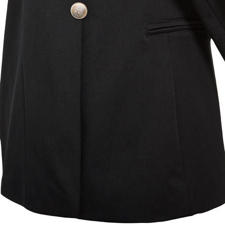 COMP500 Kids' Competition Horse Riding Jacket - Black