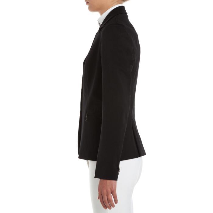 Veste de Concours équitation femme COMP500 noir - 346354