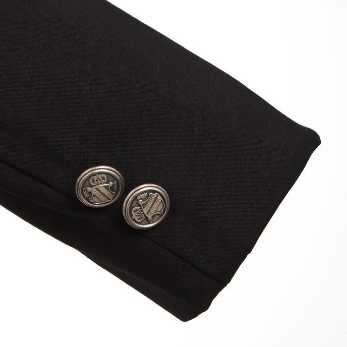 Veste de Concours équitation femme COMP500 noir - 346363