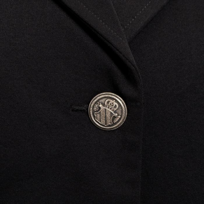 Veste de Concours équitation femme COMP500 noir - 346368