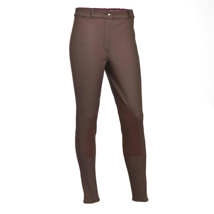 Pantalon chaud imperméable équitation enfant KIPWARM - 346424