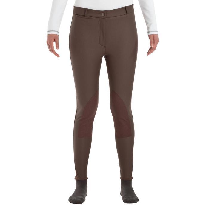 Pantalon chaud imperméable équitation enfant KIPWARM - 346426