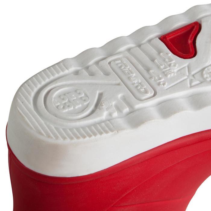 Zeillaarzen B100 voor kinderen rood