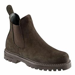 成人款馬術短馬靴Sentier-棕色