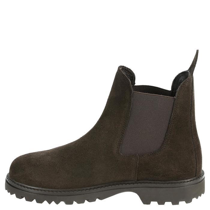 Boots équitation enfant SENTIER marron - 346896