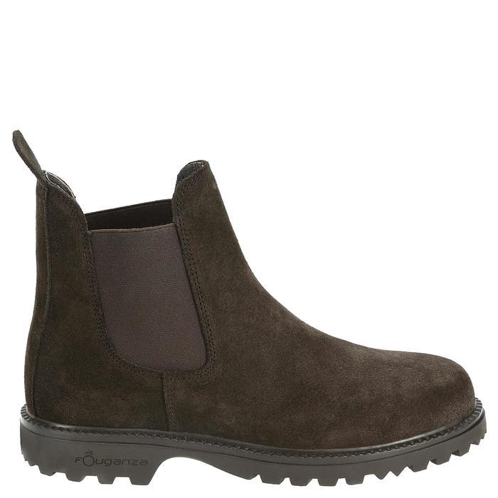 Boots équitation enfant SENTIER marron - 346898