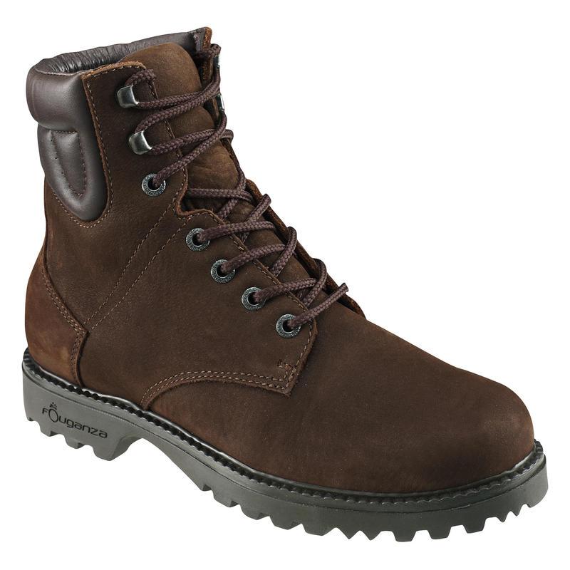Boots équitation adulte SENTIER TOP marron