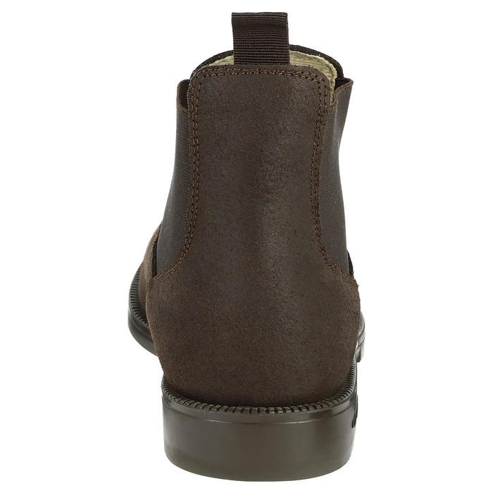 Boots cuir équitation adulte CLASSIC - 346936