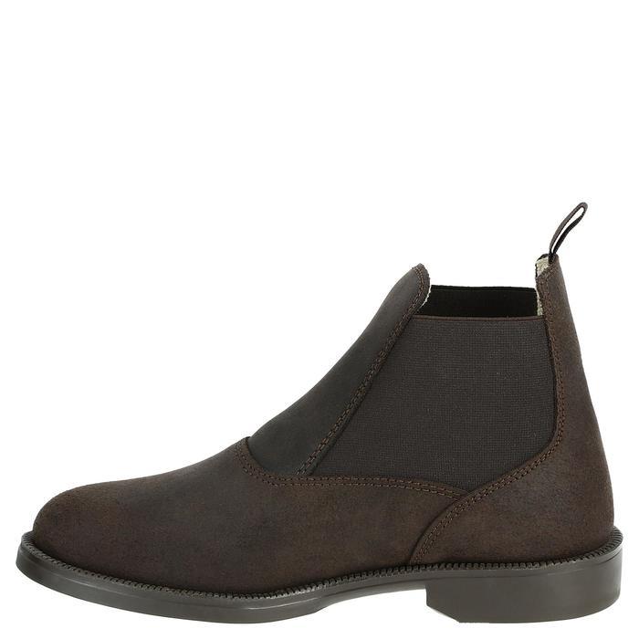 Boots cuir équitation adulte CLASSIC - 346938