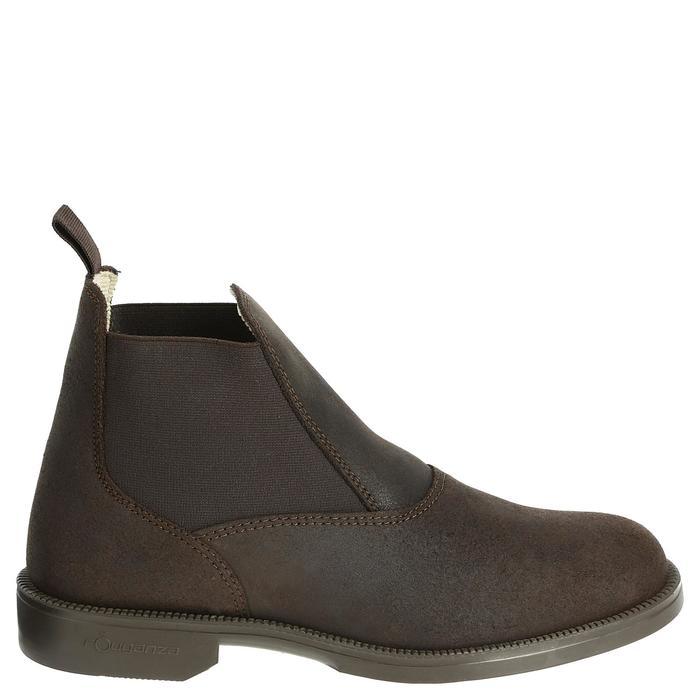 Boots cuir équitation adulte CLASSIC - 346939