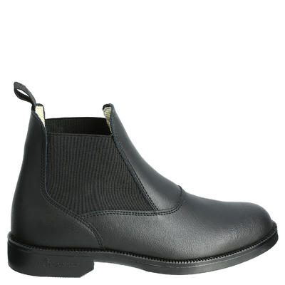 Adult Horse Riding Classic Leather Boots - Black
