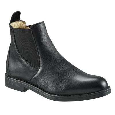 Holstein Adult Horse Riding Jodhpur Boots - Black