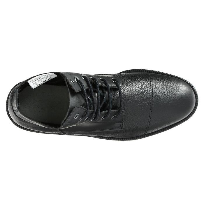 Boots équitation adulte CLASSIC LACETS noir - 346998